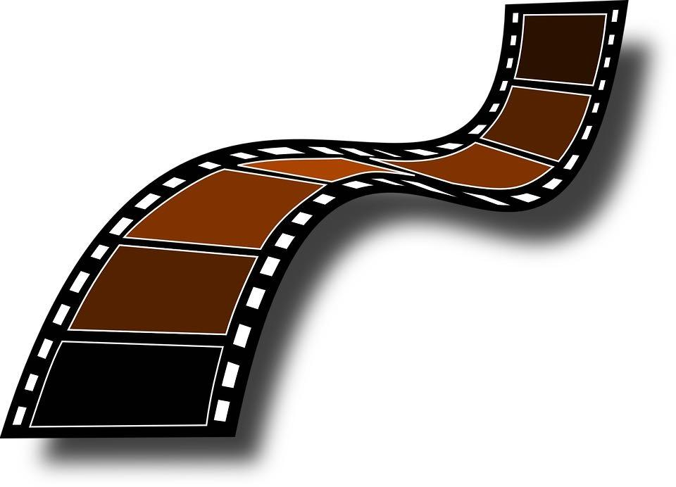 Free Stock Photo: Illustration of a filmstrip